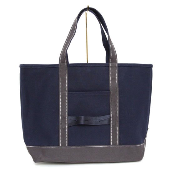 d061f2f7d5 hobo(ホーボー) Cotton Canvas Tote Bag M (ネイビー)(トートバッグ) ...