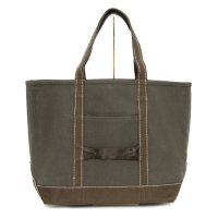 hobo(ホーボー) Cotton Canvas Tote Bag M (オリーブ)(トートバッグ)(キャンバス)