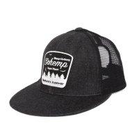 GO HEMP ゴーヘンプ|Nature's Answer MESH CAP (ブラック)(メッシュキャップ)