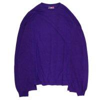ionoi イオノイ|LEPAKOT L/S TEE (パープル)(ロンT 長袖Tシャツ)