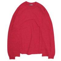 ionoi イオノイ|LEPAKOT L/S TEE (レッド)(ロンT 長袖Tシャツ)