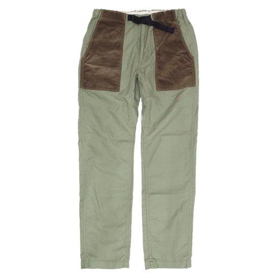 GO HEMP ゴーヘンプ|BAKER CLIMBING PANTS BACK SATIN (オリーブ)(ベイカーパンツ クライミングパンツ)