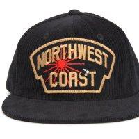 Nasngwam ナスングワム|NWC CORDUROY CAP (ブラック)(NWCコーデュロイキャップ)