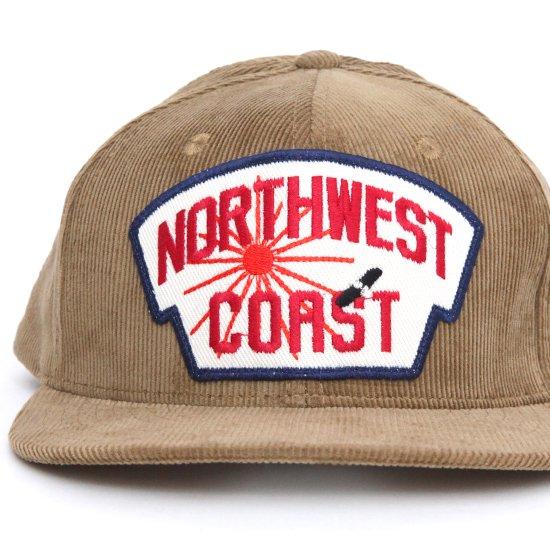 Nasngwam ナスングワム|NWC CORDUROY CAP (ベージュ)(NWCコーデュロイキャップ)