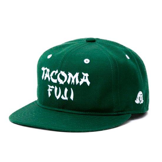 TACOMA FUJI RECORDS タコマフジレコード TACOMA FUJI CAP 5th (グリーン)(ベースボールキャップ)