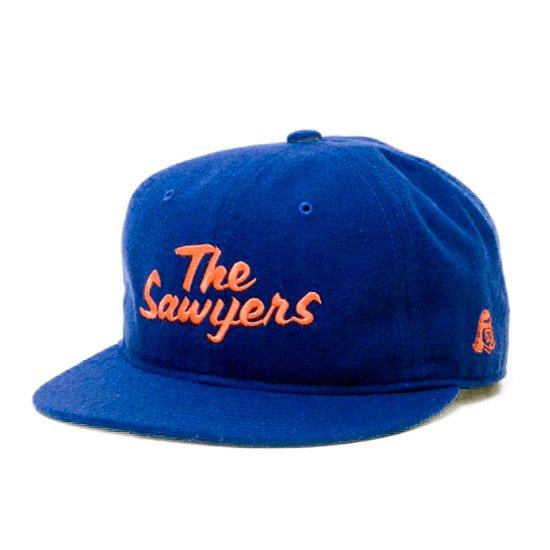 TACOMA FUJI RECORDS タコマフジレコード THE SAWYERS CAP (ブルー)(ベースボールキャップ)