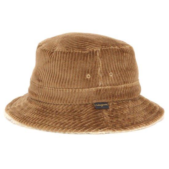 Nasngwam ナスングワム|FILLMORE HAT (キャメル)(コーデュロイ ボア ハット)