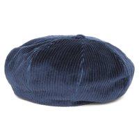 Nasngwam ナスングワム|ZEPPET BERET (ネイビー)(コーデュロイ ベレー帽)