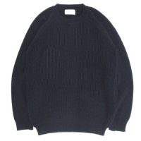 soglia ソリア|LERWICK Sweater (ブラック)(ラーウィックセーター)