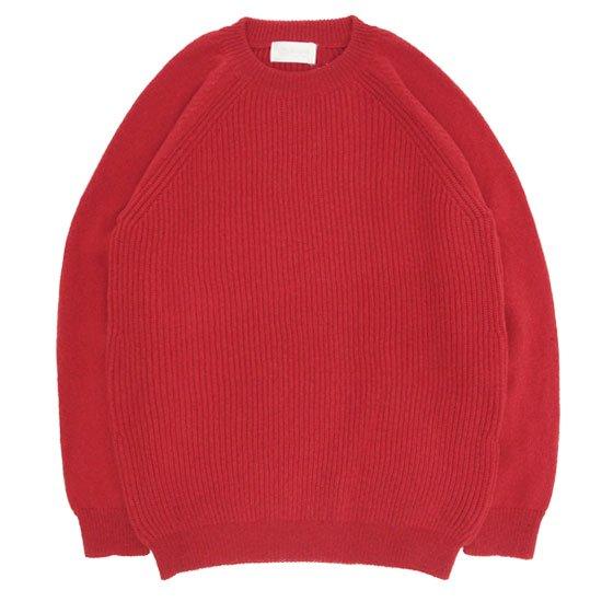 soglia ソリア|LERWICK Sweater (レッド)(ラーウィックセーター)
