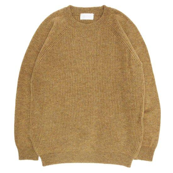 soglia ソリア|LERWICK Sweater (マスタード)(ラーウィックセーター)