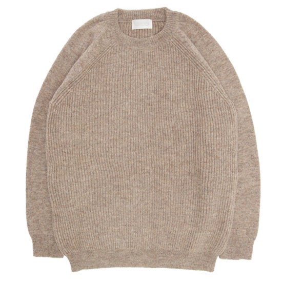 soglia ソリア LERWICK Sweater (ベージュ)(ラーウィックセーター)