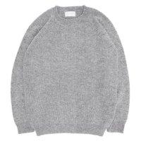 soglia ソリア|LERWICK Sweater (ライトグレイ)(ラーウィックセーター)