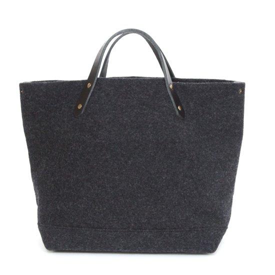 suolo スオーロ|HUT wool (ダークグレー)(トートバッグ ハット)