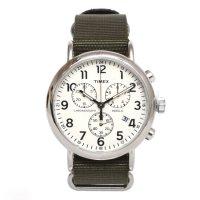 TIMEX タイメックス|TW2P71400 Weekender Chronograph (オリーブ)(腕時計)