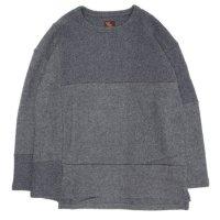 Phatee ファティー|PROGRESS SWEATER (チャコール)(ウール セーター)