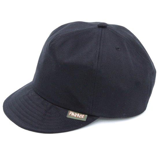 Phatee ファティ|PHAT CAP (ツイルブラック)(ファットキャップ)