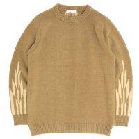 OWEN'S FACTORY オーウェンズファクトリー|STACY Sweater (キャメル)(ステイシー セーター)