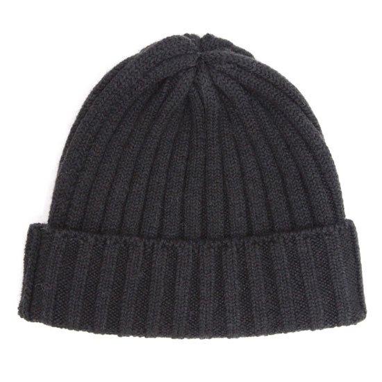 remilla レミーラ|リブニット帽 (スミクロ)(ニット帽)