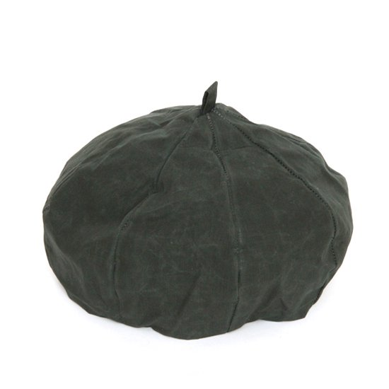 VOO ヴォー|BIG APPLE 改 (グリーン パラフィン)(ベレー帽)