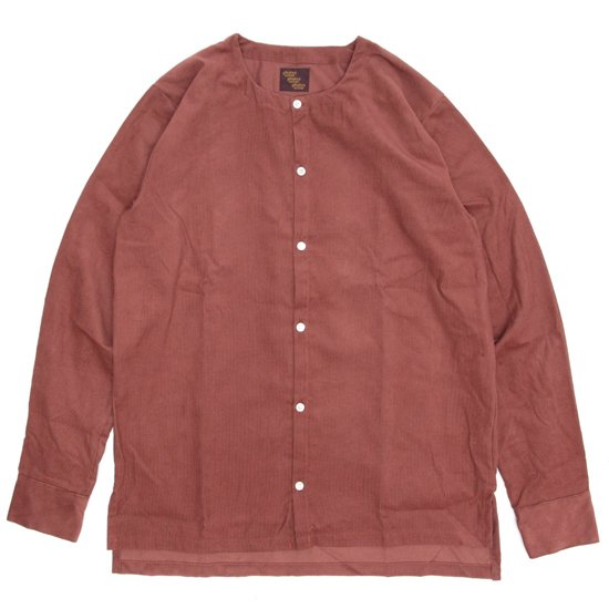 Phatee ファティ|TEKIYA SHIRTS LONG (サビ)(ノーカラーシャツ 長袖シャツ)