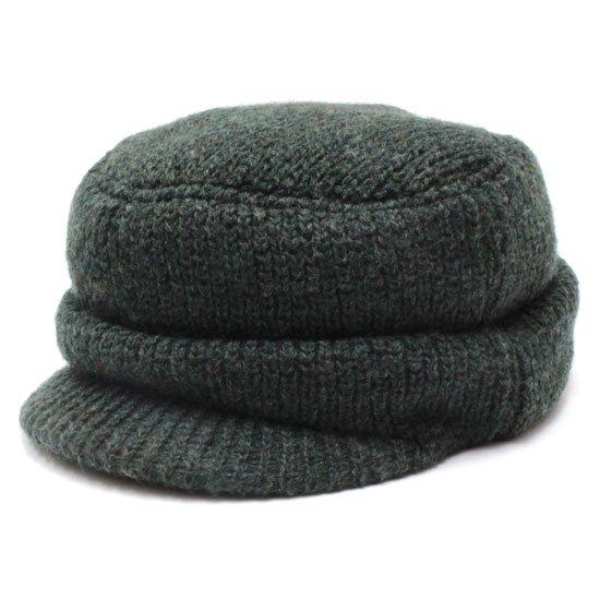 remilla レミーラ|マタギ帽 (オリーブ杢)(ニット帽)