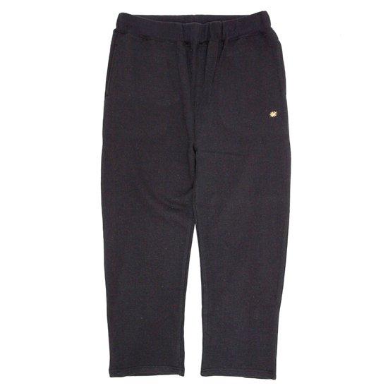 GO HEMP ゴーヘンプ|EASY SWEAT PANTS 17 (ブラック)(スウェットパンツ)