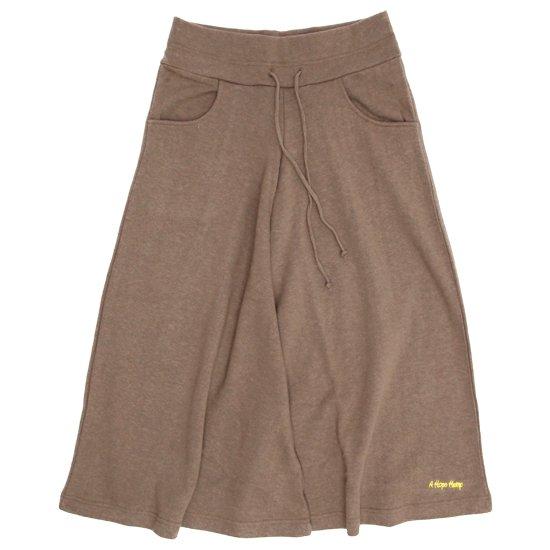 A HOPE HEMP アホープヘンプ レディース 8SL Wide Pants (スクート)(八分丈ワイドパンツ)