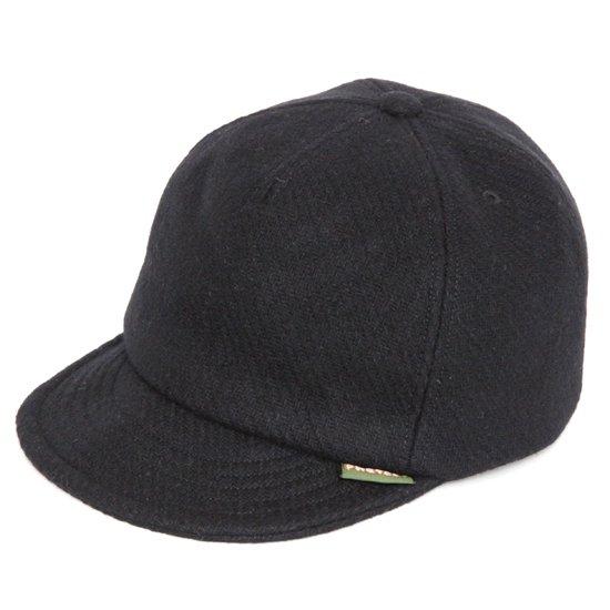 Phatee ファティ|HEMP CAP MELTON (メルトンブラック)(ヘンプキャップ メルトン)