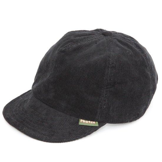 Phatee ファティ HEMP CAP CORDUROY (コールブラック)(ヘンプキャップ コーデュロイ)