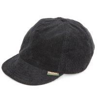 Phatee ファティ|HEMP CAP CORDUROY (コールブラック)(ヘンプキャップ コーデュロイ)