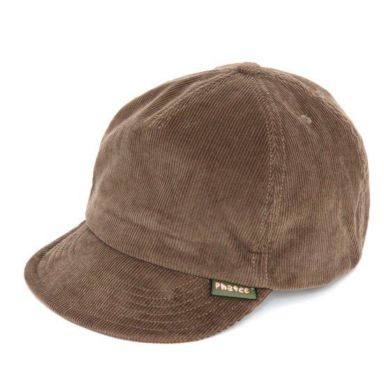 Phatee ファティ|HEMP CAP CORDUROY (コールベージュ)(ヘンプキャップ コーデュロイ)