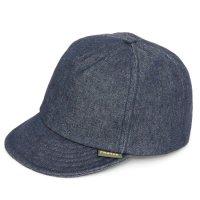 Phatee ファティ|HEMP CAP DENIM (インディゴ)(ヘンプキャップ デニム)