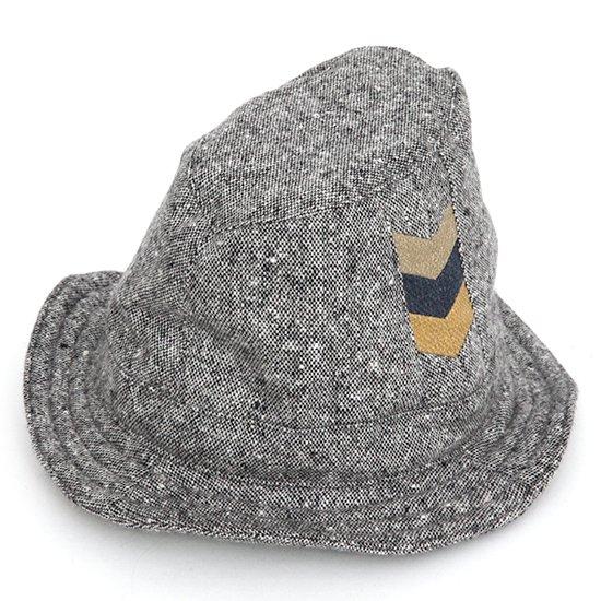 hug ハグ|Wool HAT (グレイ)(ウールハット)(ハンドメイド)