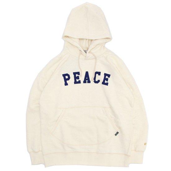 GO HEMP ゴーヘンプ|PEACE PULL PARKA (ナチュラル)(プルパーカー)