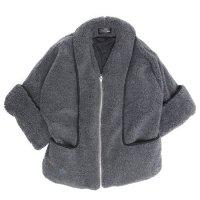 ALDIES アールディーズ|Bonds Short Coat (グレイ)(半纏 ユニセックスアイテム)
