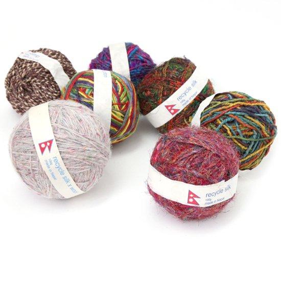 chahat チャハット|yarn ball MIX 糸玉 ミックス (ヘンプコットンボール)