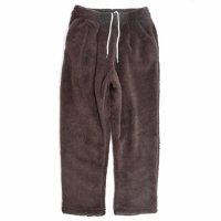 Phatee ファティー|BEAR PANTS (ブラウン)(ボアパンツ イージーパンツ)