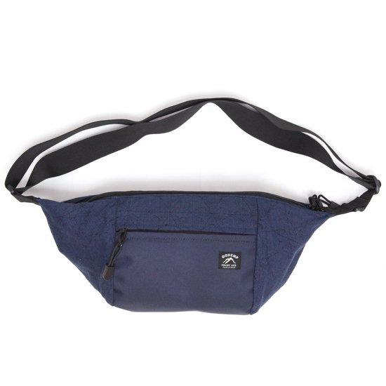 GO HEMP ゴーヘンプ|ASAGARA SHOULDER BAG (インディゴ)(ショルダーバッグ ウェストバッグ)