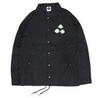 KM4K カモシカ|COACH JACKET LOGO (ブラック)(カモシカ コーチジャケット)