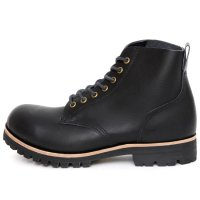 William Lennon ウィリアムレノン|#107 Field Boots (ブラック)(ワークブーツ フィールドブーツ)