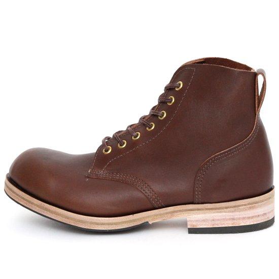 William Lennon ウィリアムレノン|#107 Field Boots (ブラウン ラティーゴ)(ワークブーツ フィールドブーツ)