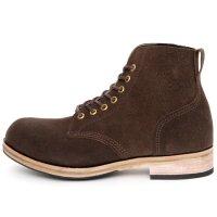 William Lennon ウィリアムレノン|#107 Field Boots (ブラウン スエード)(ワークブーツ フィールドブーツ)