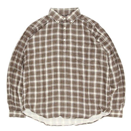 SPINNER BAIT スピナーベイト|ラモス ダブルガーゼ シャツ (キャメル)(長袖プルオーバーシャツ)
