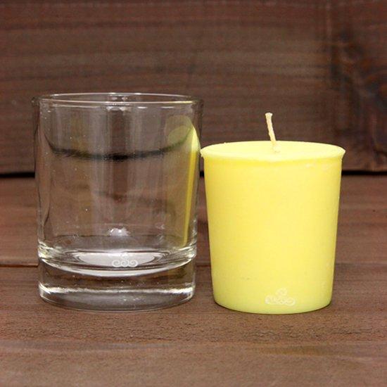KUUMBA クンバ|FRAGRANCE CANDLE グラス付きセット (ハッピー)(キャンドル)