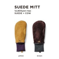 GREEN CLOTHING グリーンクロージング【予約商品】9月〜11月入荷予定|18-19 SUEDE MITT (グローブ)