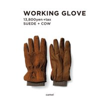 GREEN CLOTHING グリーンクロージング|18-19 WORKING GLOVE (グローブ)