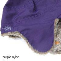 GREEN CLOTHING グリーンクロージング|18-19 BOA CAP (purple nylon)(ボアキャップ)