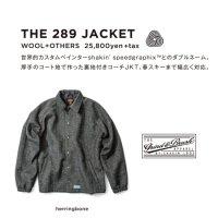 GREEN CLOTHING グリーンクロージング【予約商品】9月〜11月入荷予定|18-19 THE 289 JACKET (コーチジャケット)