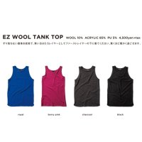 GREEN CLOTHING グリーンクロージング【予約商品】9月〜11月入荷予定|18-19 EZ WOOL TANK TOP (ファーストレイヤー)